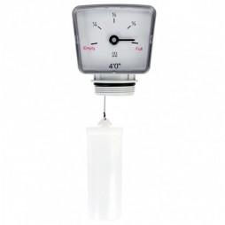 Oil Tank Clock Gauge