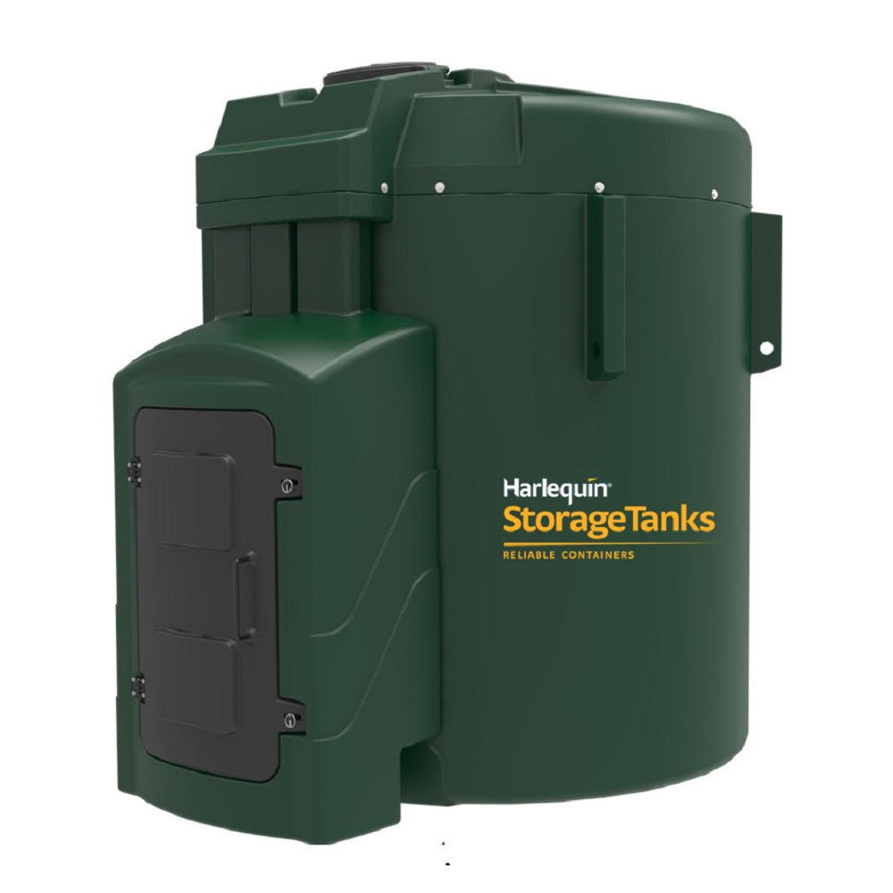 Tanks-UK - 9250L Fuel Station, for the storage and ...