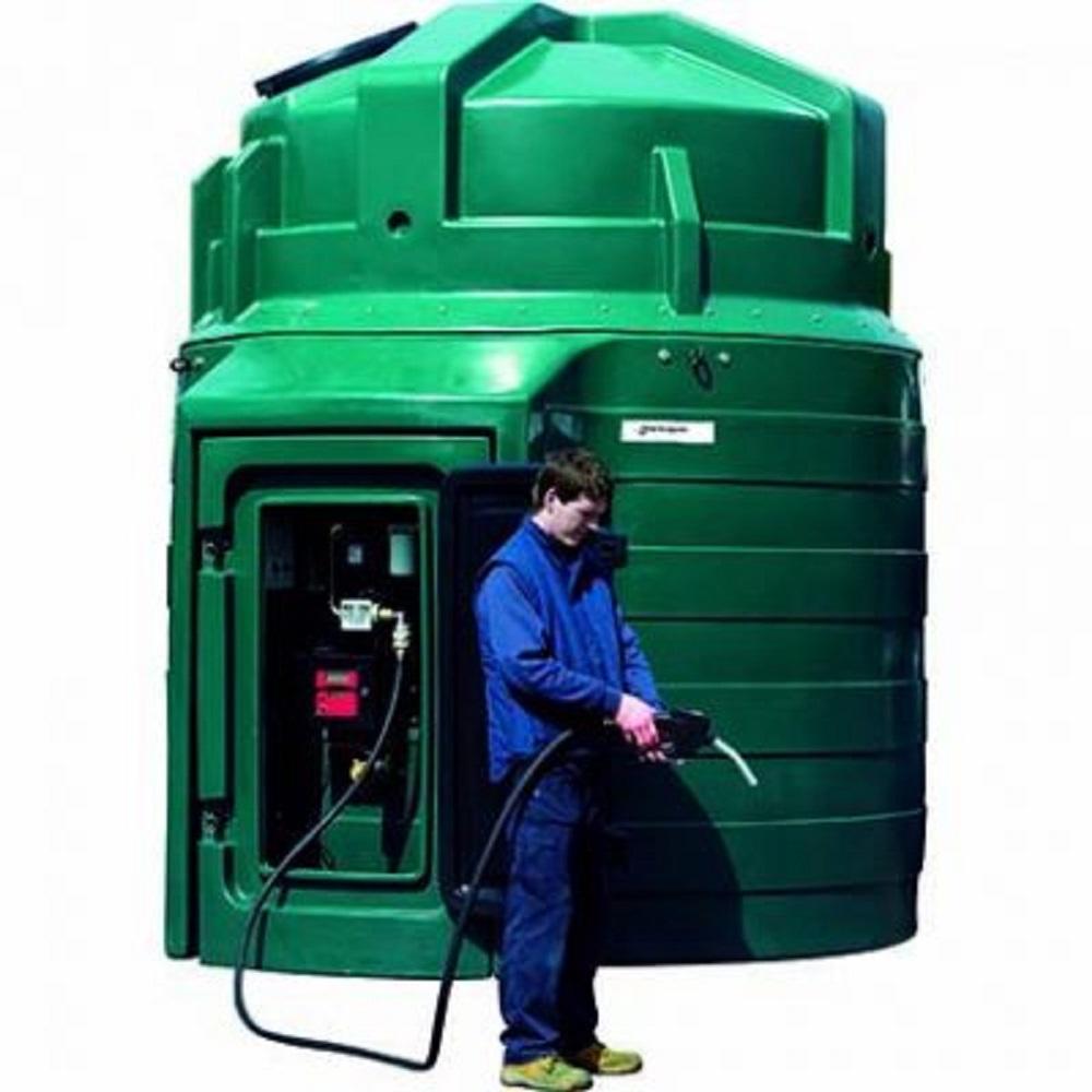 10000 Litre Bunded Fuel Station (Harlequin) - 10000L Fuel ...