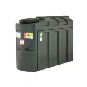 1000ITE, 1,000 Litre tunded Slimline Oil Tank, Harlequin, Plastic Domestic or Commercial Oil storage