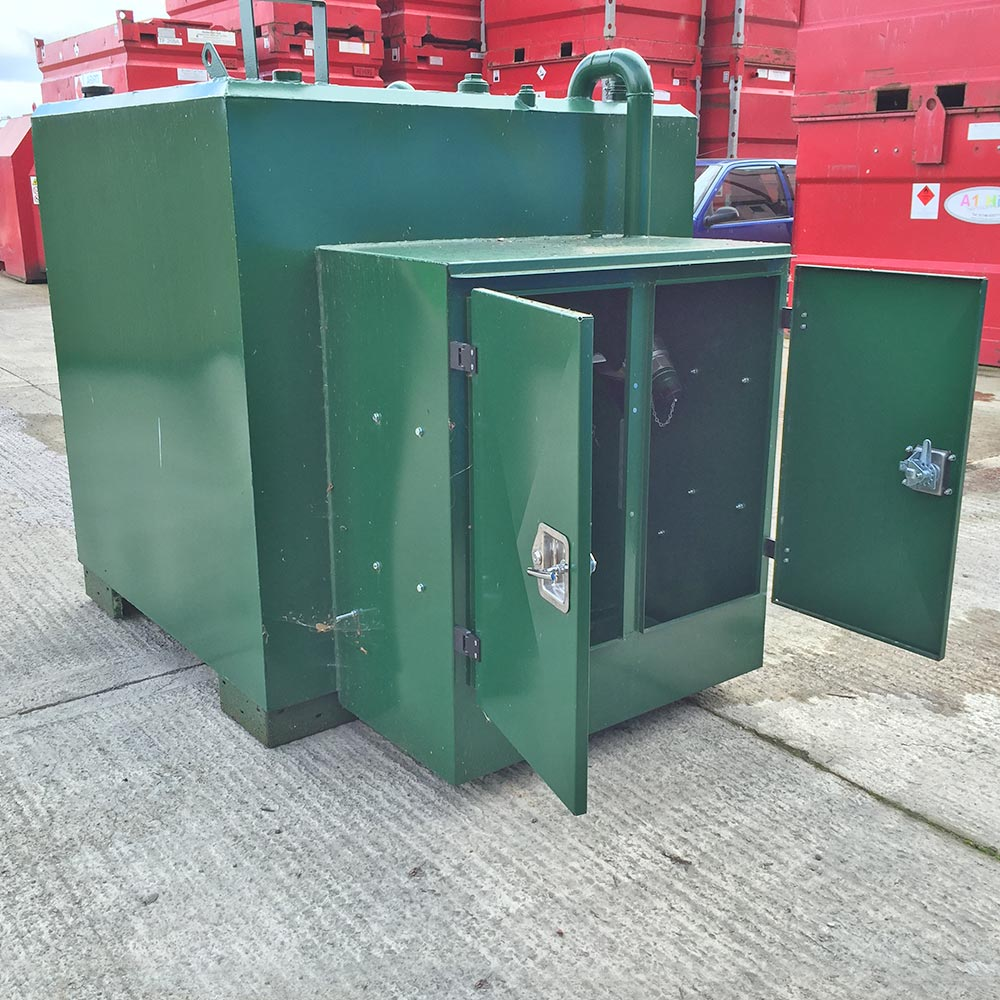 Tanks Uk 1 600 Litre 360 Gallon Diesel Dispensing Tank