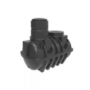 Harlequin 2500 Litre Underground Water Storage Tank, UG2500, 550 gallons underground water tank, 2500L Non-potable underground tank